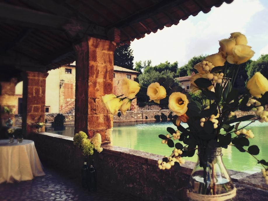 Terme, storia, natura e amore: così è il matrimonio a Bagno ...