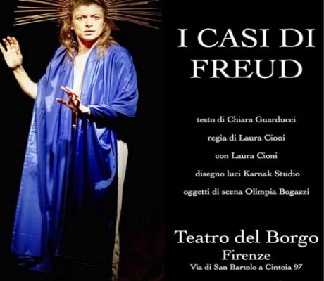 """""""I casi di Freud"""" in scena nello spettacolo di Chiara Guarducci, diretto e interpretato da Laura Cioni"""
