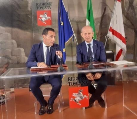 Impresa 4.0 nei settori del turismo e del commercio, siglato accordo Regione-Confesercenti Toscana