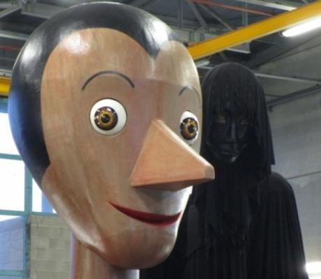 Al carnevale di Viareggio un carro dedicato a Pinocchio
