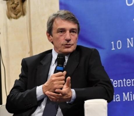 """Sassoli: """"L'Europa ha scoperto la solidarietà e scommette su una politica comune per la rinascita dell'economia"""""""