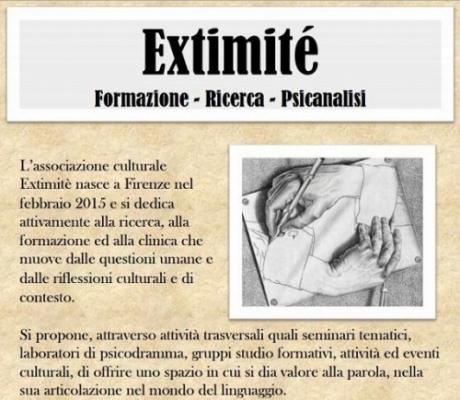 PSICOANALISI - L'associazione Extimité come spazio di esperienza dell'inconscio, da Freud a Lacan