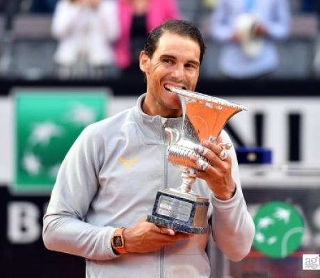 TENNIS - Internazionali d'Italia, Nadal vince e torna numero uno al mondo - IMMAGINI AGIPRESS