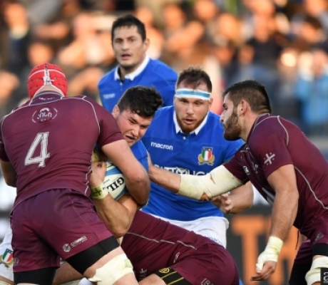 Rugby, Italia-Georgia 28-17. Vedi la galleria immagini