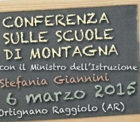Ministro dell'Istruzione Giannini domani in Casentino per conferenza scuole montagna