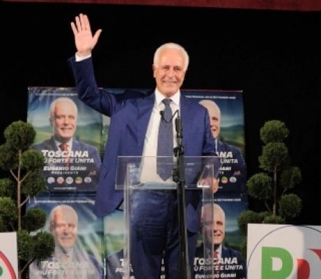 REGIONALI 2020 - In Toscana Eugenio Giani (centrosinistra) è il nuovo Presidente della Regione