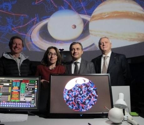 FIRENZE - Il nuovo Planetario Digitale, l'astronomia si racconta in modo rivoluzionario