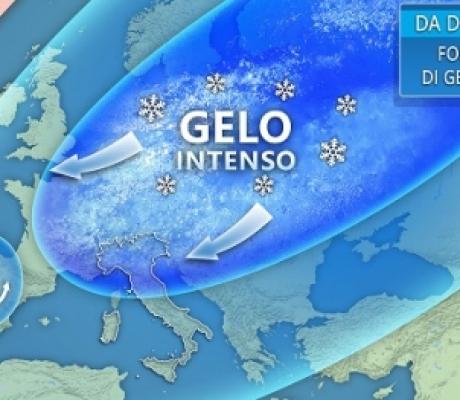 Ondata di gelo eccezionale in arrivo Europa, il Burian colpirà anche l'italia con neve a quote basse