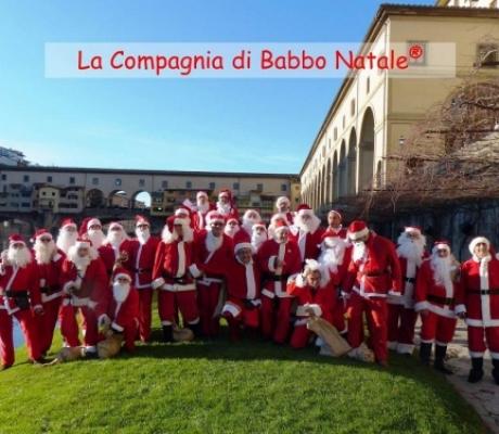 La Compagnia di Babbo Natale a Fiorentina - Empoli per bimbi bisognosi