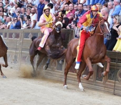 Palio di Siena 16 agosto 2017, vince l'Onda - FOTOGALLERY