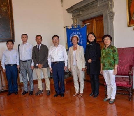 RICERCA - Delegazione cinese in Ateneo di Pisa per accordo con il dipartimento di veterinaria