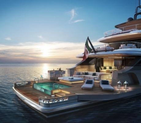 Yacht di lusso, eccellenza italiana Benetti vende il primo Oasis 40m ad armatore americano