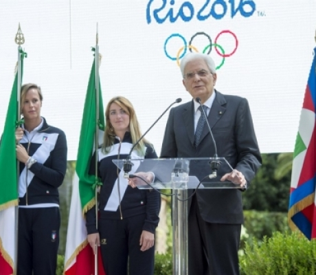 Olimpiadi Rio 2016, Federica Pellegrini portabandiera dell'Italia con Martina Caironi