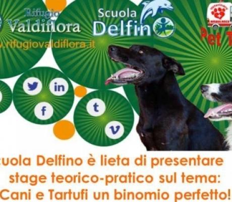 Cani e Tartufi protagonisti al corso di ricerca olfattiva