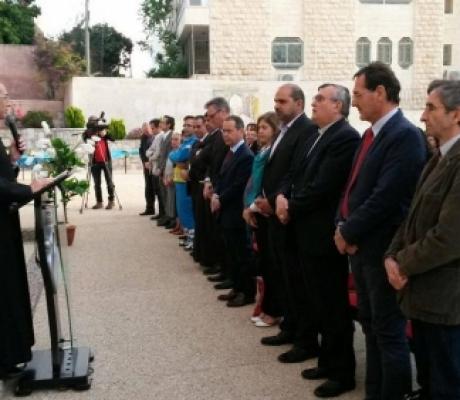 Terra Santa, Misericordie Italiane inaugurano due ambulatori oculistici a Betlemme per bambini e famiglie