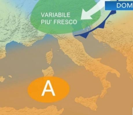 METEO - L'estate si rafforza, sole e caldo con solo qualche temporale al nord. LE PREVISIONI