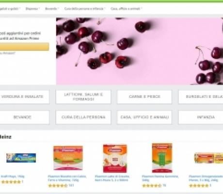 Arriva Amazon Fresh, il servizio di consegna spesa in giornata