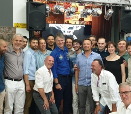L'ex astronauta Paolo Nespoli ospite d'onore alla festa di El.En.