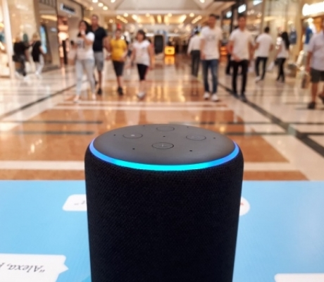 Intelligenza artificiale, Romaest primo centro commerciale su Alexa di Amazon