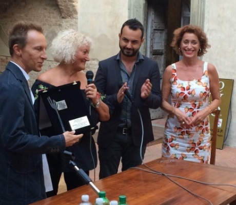 ENOGASTRONOMIA - Cristiano Militello premiato a Boccaccesca 2014