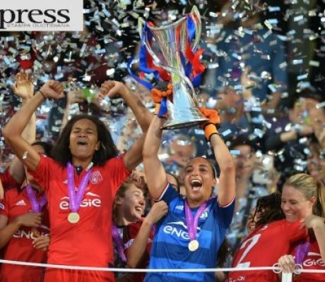 Champions femminile, trionfa il Lione contro il Wolfsburg - IMMAGINI