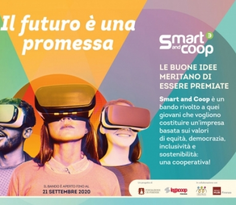 Idee innovative per imprese sostenibili: Smart and Coop per nuove cooperative di under 35