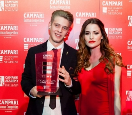 A STEFANO CATTANEO IL TITOLO DI CAMPARI BARMAN OF THE YEAR