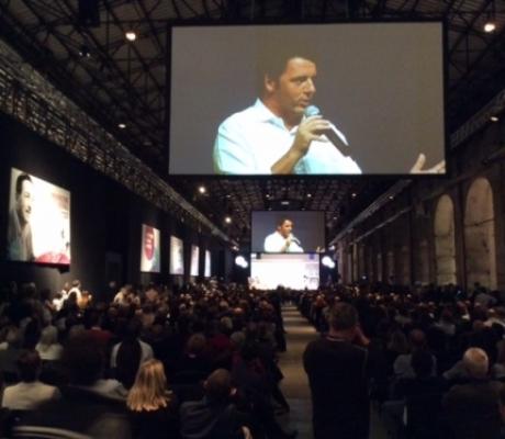 """RENZI alla Leopolda 5 di Firenze per """"coltivare idee e costruire sogni"""""""