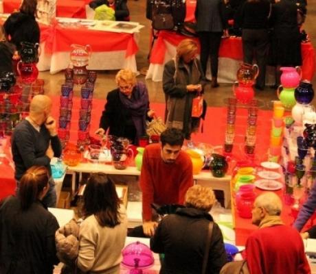 Aspettando il Natale, la mostra mercato della Croce Rossa a Firenze