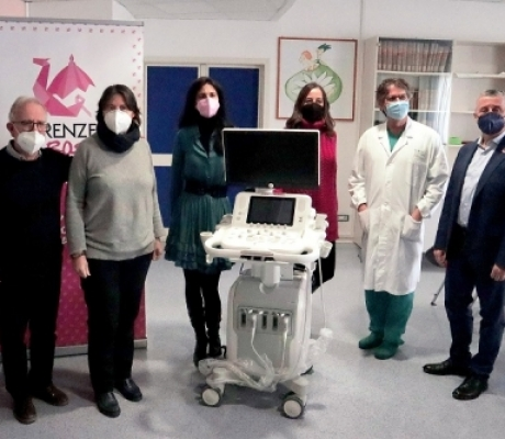 Careggi, un innovativo ecografo donato dall'associazione Firenze in Rosa