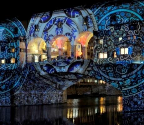 Il Light Festival illumina piazze e monumenti di Firenze