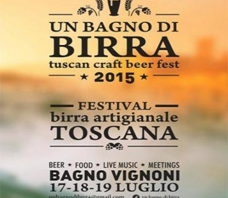 A Bagno Vignoni dal 17 al 19 Luglio 2015 il 1° Festival della birra artigianale toscana