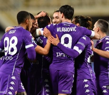 SERIE A - Le immagini di Fiorentina-Crotone finita 2-1